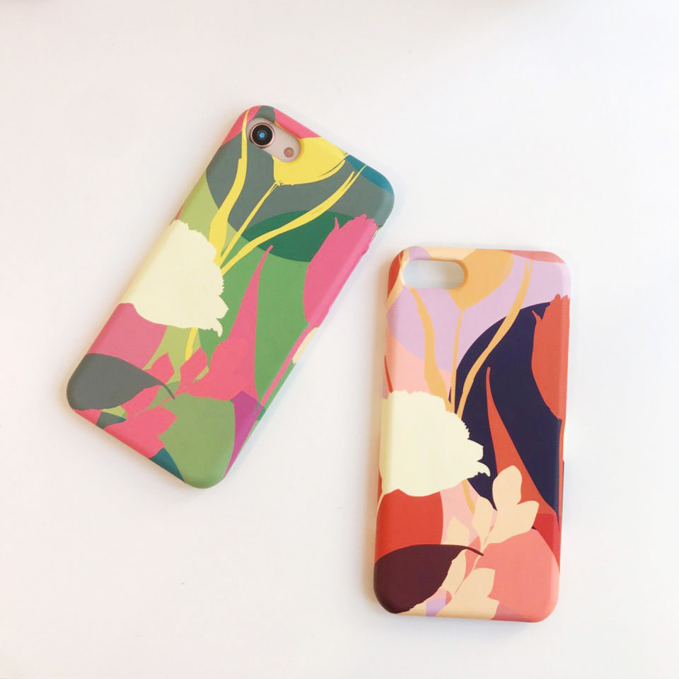 lisianthus phone case